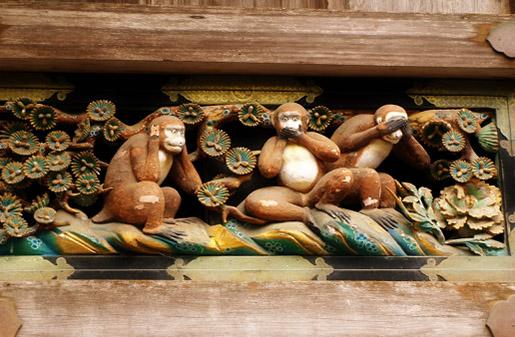Leyenda de los 3 Monos Sabios (Izaru, Iwazaru y Kikazaru)