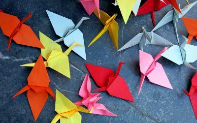 Significado de las Grullas de Origami
