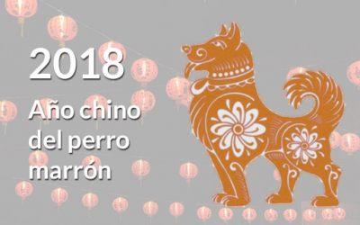 2018: Año chino del Perro Marrón de Tierra Masculino